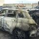 Notte di fuoco a Lecce: cinque auto in fiamme